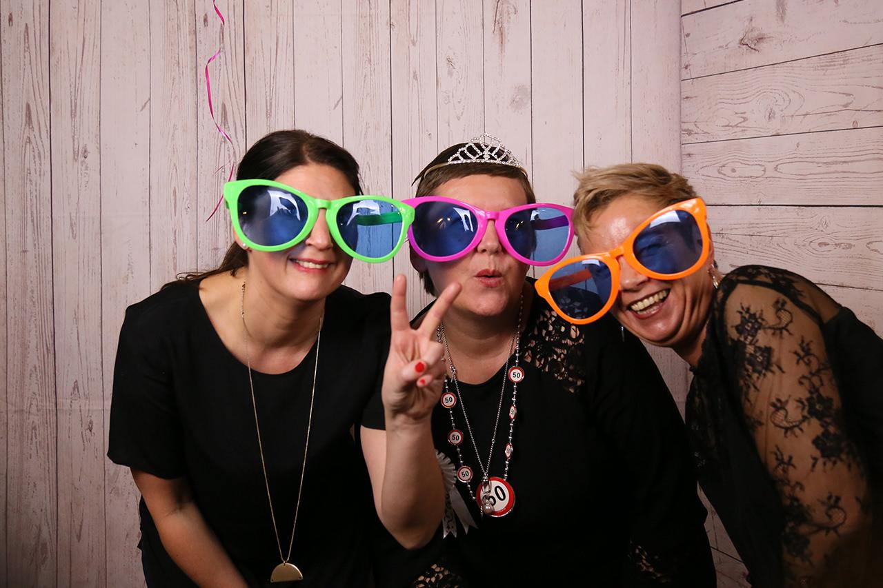 Motto Fotobox - 50 Geburtstag Jubiläum
