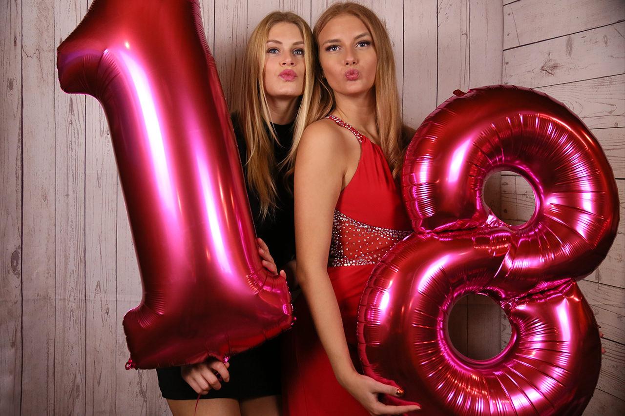 Motto Fotobox - Geburtstag 18