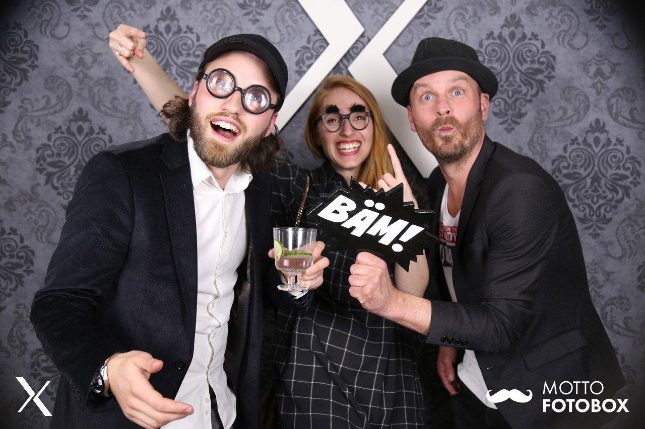 Motto Fotovox - Hamburg Firmenevent / Feier - Spaßbrille