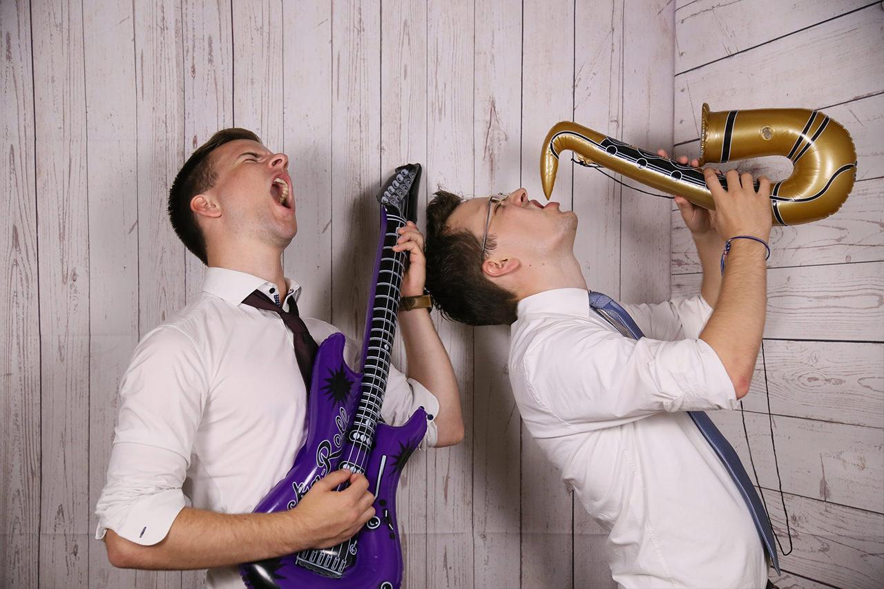 Motto Fotobox - Hochzeit / Wedding - Accessoires Aufblasbare Instrumente