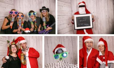 Weihnachtsfeier Börnsen bei Hamburg Fotobox
